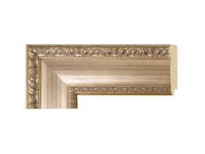 "O-79413 - 2 3/4"" Silver Panel w/ Emboss"