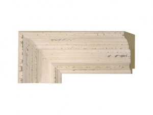 "O-79621 - 3"" Distressed Cream Panel"