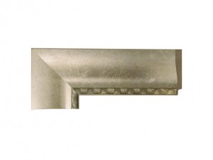"O-80604 - 2 1/2"" Silver Flat Scoop"