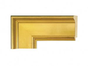 "O-81012 - 3 1/4"" Gold Panel"