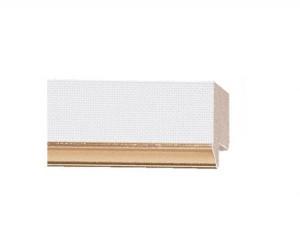 D-6181 - 1 in White Linen w/ Gold